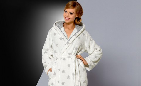 Women's bathrobe Joy - Collection autumn – winter 2015/16