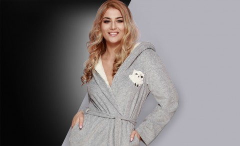 Women's bathrobe 8104 - Collection Spring – Summer2018