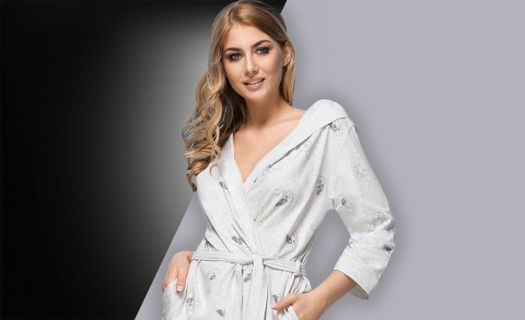 Women's bathrobe 8109 - Collection Spring – Summer2018