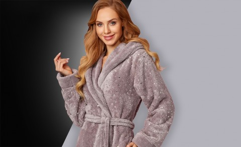Women's bathrobe 8141 - Collection Autumn – Winter 2018