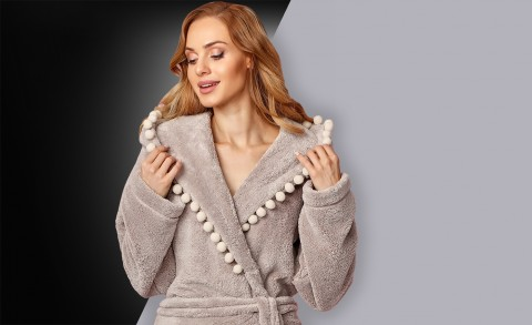 Women's bathrobe 8142 - Collection Autumn – Winter 2018