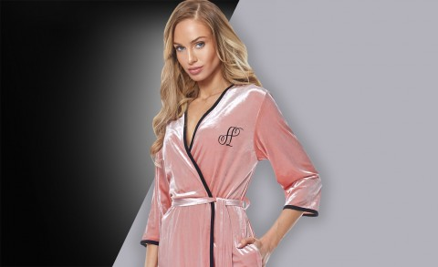 Women's bathrobe 9114 - Collection Spring - Summer 2019