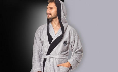 Men's bathrobe 9111 - Collection Spring - Summer 2019