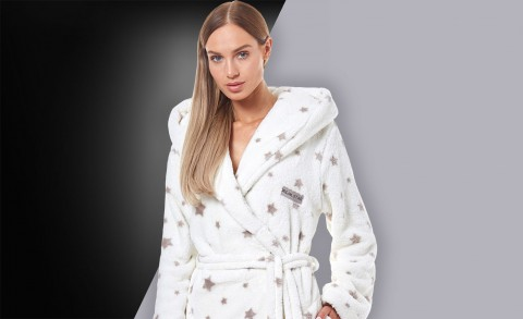 Women's bathrobe 9135 - Collection Autumn - Winter 2019