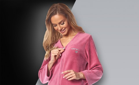 Women's bathrobe 2033 - Collection Spring - Summer 2020